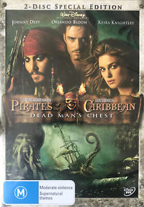 Pirates Of The Caribbean : Dead Man's Chest : 2 Disc  : NEW & Sealed