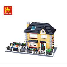 Gebäude WANGE-34051 Bausätze DIY Spielwaren 909PCS Baukästen Geschenk Dekoration