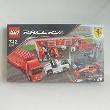 Lego Racers - 8155 Ferrari F1 Pit NEW SEALED