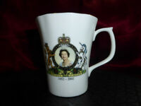 2002 Queen Elizabeth II GOLDEN JUBILEE CHINA MUG Mayfair Royal Memorabilia Ware