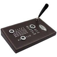 Calendario da Tavolo con Indicatori Magnetici e Porta Penna