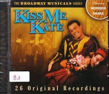 Kiss Me Kate + CD + 26 original Hits aus dem Musical + Broadway + NEU + OVP +