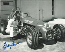 BOBBY UNSER INDY CAR DRIVER SIGNED 8x10 PHOTO INDIANAPOLIS 500 CHAMPION w/COA