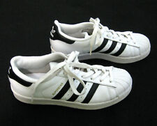 ADIDAS SUPERSTAR Mens (Size 6) White Leather Tennis Shoes Sneakers Classic Style