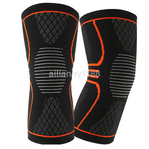 New Nylon Elastic Knee Recovery Compression Sleeve Support Protective Brace US