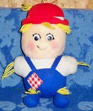 Del Monte Country Yumkin SHOO SHOO SCARECROW Stuffed Animal Plush