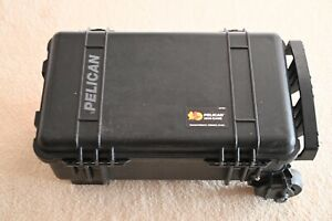 Pelican 1510 Road case been used, carried my FS 7 Wheels Retracting handle