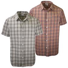 Columbia Men's Rapid Rivers II Color Box Plaid S/S Shirt (Retail $40)