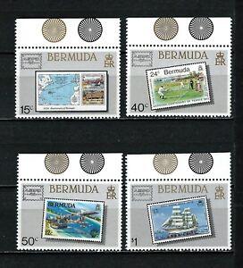 Bermuda - Ameripex 86 MNH set