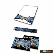 Pokemon Notepad 2 Sticker Sheets & 4 Pencils From the 2019 Fall Collectors Chest