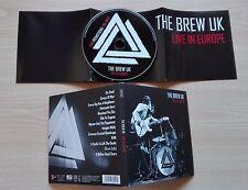 THE BREW UK – ''LIVE IN EUROPE'' – GERMANY PROMO ALBUM