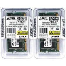 1GB KIT 2 x 512MB HP Compaq Presario V13xxAP V2000 V2000T CTO Ram Memory