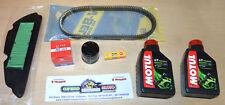 Kit Tagliando Honda SH 300 IE Filtro Aria Olio Candela NGK 2 Motul Cinghia
