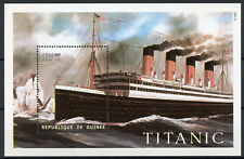 Guinea 1998 MNH Titanic 1v S/S Ships Boats Nautical Stamps
