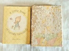 Hallmark Editions Illustrated Betsey Clark A Little Book Of Cheery Thoughts 1974