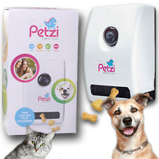 Petzila Petzi Smart Treat Cam Cat Dog Wi-Fi Audio Camera Night Vision