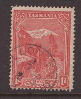 Tasmania LISDILLON  1905 postmark on 1d pictorial rated S+ (6*) by Hardinge