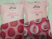 Lot of 2 Cake & Cookie Mix Pink Collection 17.5 oz Each Valentines Day Love