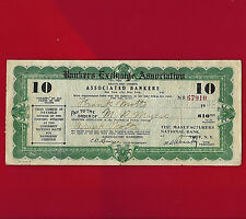 Bankers Exchange Association $10.00 Travels Cheque AUG 10 1932 STANDARD OIL CO