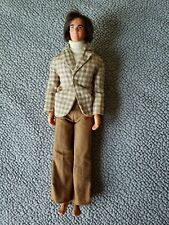 Mod Hair Ken 1968 Doll #4224 in Outfit Vintage Barbie Hong Kong No Shoes