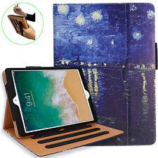 iPad 5th 6th Generation Case - Multi-Angle Stand, Hand Strap, Auto Sleep/Wake