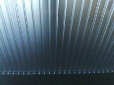 RESTPOSTEN Doppelstegplatten für Gewächshaus 4 mm klar / farblos UV-geschützt