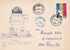 ROMANIAN CARGO SHIP MS FILIPESTI A SHIPS CACHED COVER