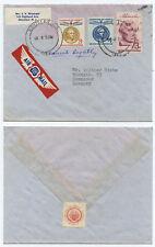 51198 - USA - Beleg - Montclair NJ 8.3.1959 nach Hannover