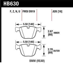 Hawk for 04-10 BMW 535i/545i/550i / 04-10 645Ci/650i /02-09 745i/745Li/750 DTC-7
