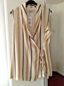 Ladies M&S Per Una Wrap around Tunic Size 20 Regular BNWT RRP £42.00