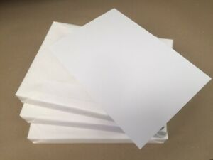 Bright White Card Stock Super Smooth A4 350 GSM pack of 18
