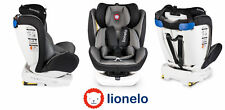Autositz Kinder Kinderautositz Bastiaan 360° Grau ISOFIX 0-36 kg Gruppe 0/1/2/3