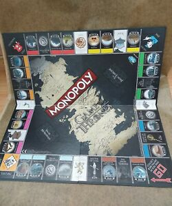 Monopoly Game Of Thrones. Play Board. (2016)