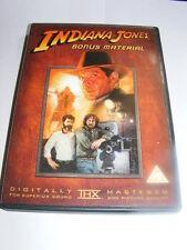 Indiana Jones Bonus Material DVD 3 hours of behind the scenes viewing         AE