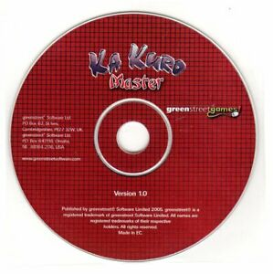 Ka Kuro Master (Unlimited Puzzles) (PC-CD, 2006) for Windows - NEW CD in SLEEVE