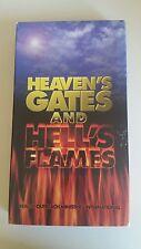 Heavens Gates and Hells Flames VHS Rare HTF Religious Live Drama