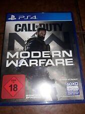 Call Of Duty Modern Warfare PS4 neuwertig Topzustand