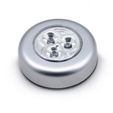 3 LED Touch Lights Cabinet Closet Light Battery Powered Cabinet Closet Stick On