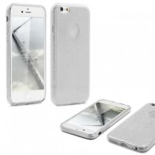 Urcover® Apple iPhone 6 / 6s 2 in 1 Glitzer Schutz Hülle Bling Case Cover Tasche