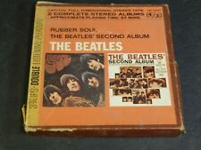 Vintage THE BEATLES Rubber Soul & Second Album Boxed 4-track reel to reel