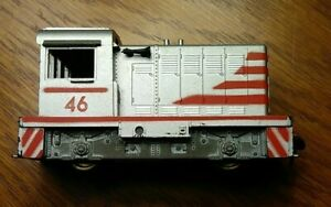 Athearn The Hustler Industrial Switcher Miniture Train 46 Silver Red