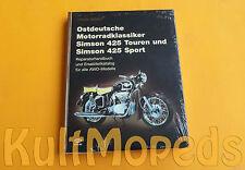 Buch Ostdeutsche Motorradklassiker Simson AWO 425 S Touren Reparatur Ersatzteile