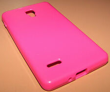 Tech21 Flex Protective Cover Gel case LG Optimus L9, Glossy Pink, new in package