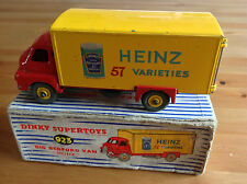 DINKY 923 BIG BEDFORD VAN HEINZ ORIGINAL AND BOXED