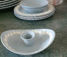 More details for wedgwood etruria & barlaston queensware candle holder