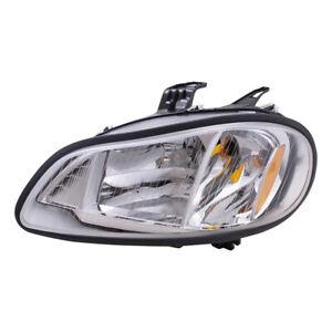 Drivers Halogen Headlamp for 02-19 Freightliner M2 04-09 SAF-T-LINER C2