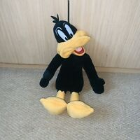 Rare Vintage Looney Tunes Daffy Duck Soft Plush Toy Play by Play