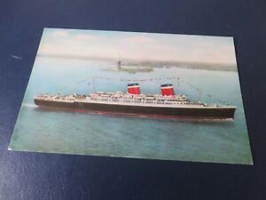 S.S. America, United States Lines . Postcard