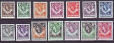 Northern Rhodesia 1953 SC 61-74 MH Set