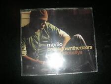 "RARE CD Morillo ""Break Down The Doors"" Feat AudioBullys (6 Remixes) Subliminal"